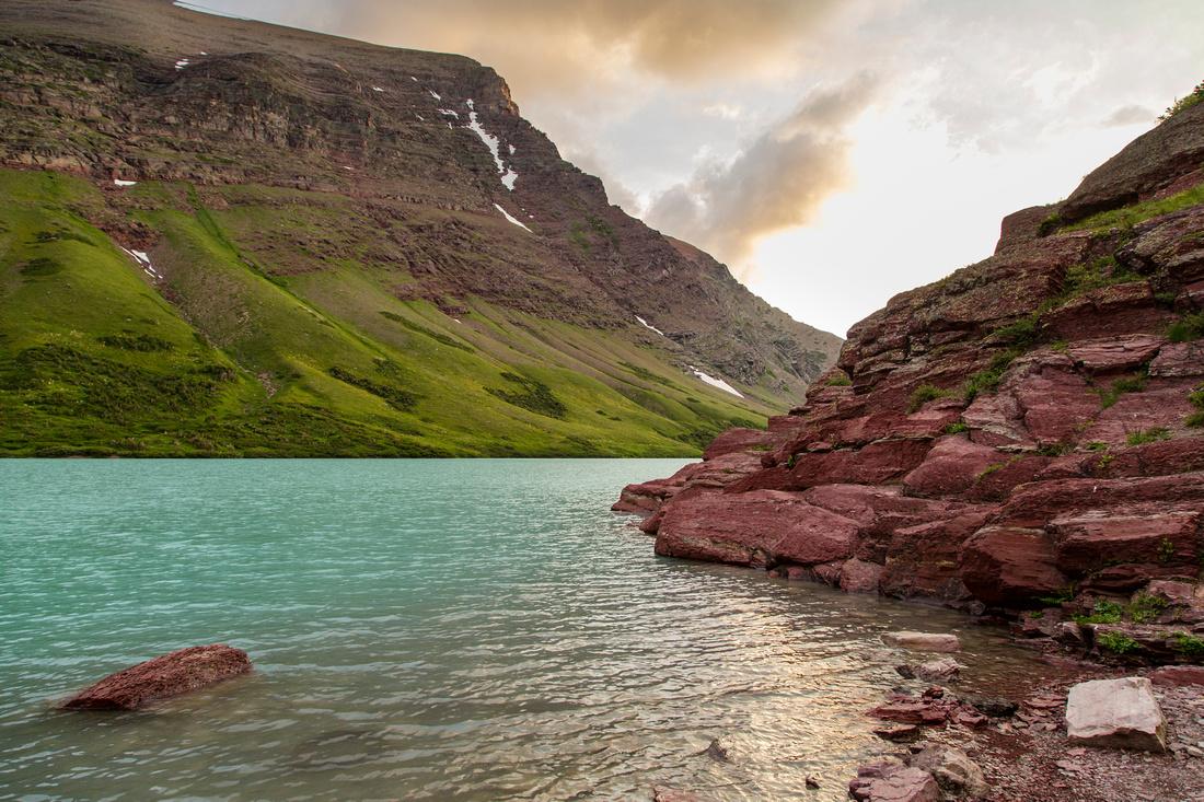 Cracker Lake at Sunrise (4)