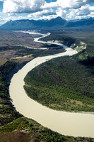Chitina River and Tebay River Confluence