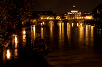 Ponte Sant'Angelo and the Tiber