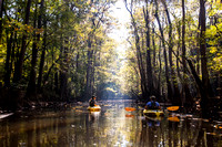 Kayakers on Cedar Creek (3)